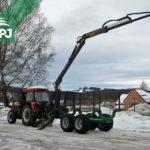 Traktorová vyvážačka
