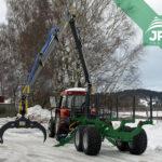 Vyvážačka za traktor