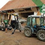 Vyvážačka dreva Vahva Jussi