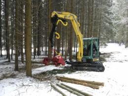 Financovanie nákupu lesnej a ďalšie techniky