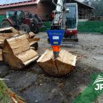 Štiepací kužeľ za traktor Deitmer