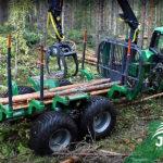 Vyvážačka dreva FARMA T14 4WD