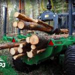 Vyvážačka dreva Farma 14t